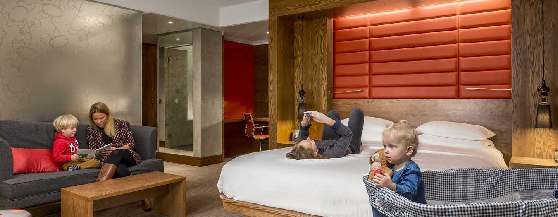Hilton The Hague, Niederlande– Familienzimmer