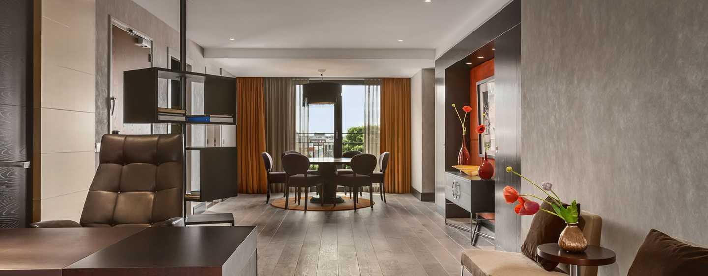Hilton The Hague, Niederlande– Wohnbereich der Royal Suite