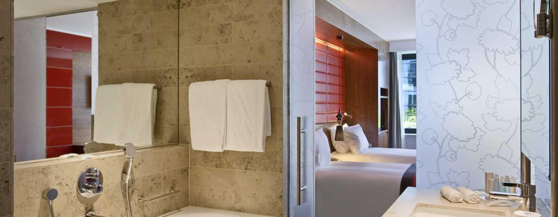 Hilton The Hague, Niederlande– Badezimmer