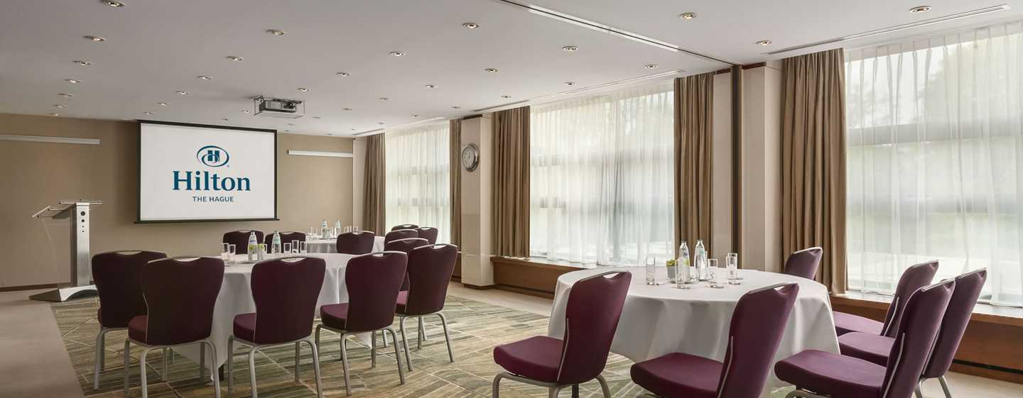 Hilton The Hague, Niederlande – Meetingraum White