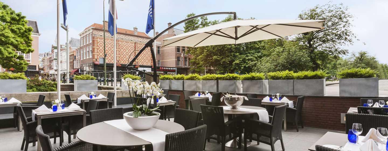 Hilton The Hague, Niederlande– Terrasse des Pearl