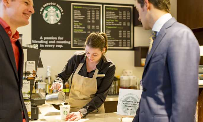 Hilton The Hague, Niederlande – Starbucks