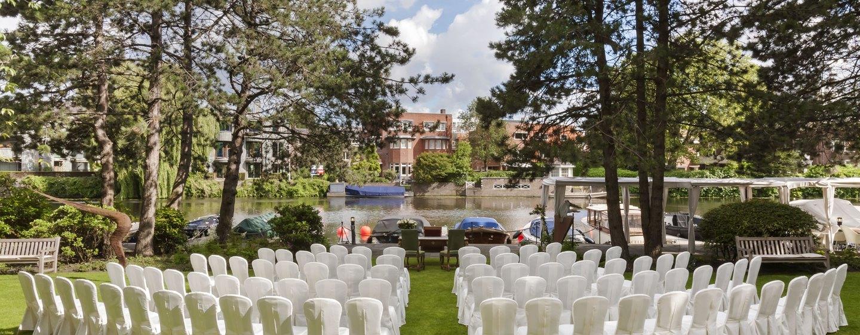 Hilton Amsterdam Hotel, Niederlande– Hochzeitsfeier