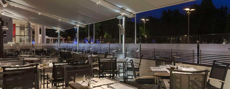 """Hilton Amsterdam Hotel, Niederlande– Restaurant """"Roberto's"""""""