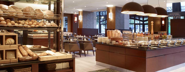 Hilton Antwerp Old Town Hotel, Belgien– Frühstücksbuffet