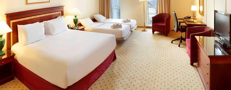 Hilton Antwerp Old Town Hotel, Belgien– Familienzimmer