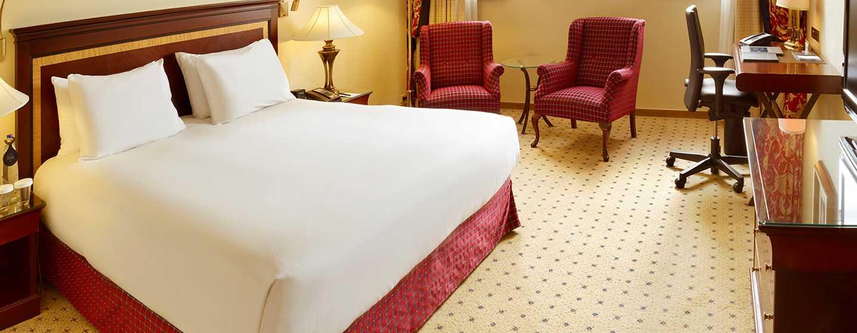 Hilton Antwerp Old Town Hotel, Belgien– Zimmer