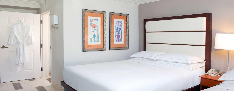 Genießen Sie den Komfort den Ihnen die Zimmer mit King-Size-Bett bieten