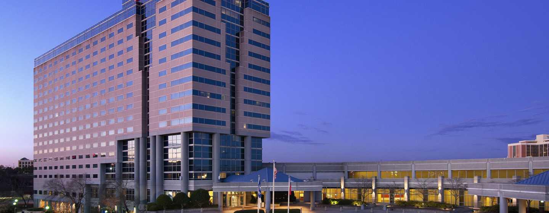 Hilton Atlanta Airport Hotel – Aussenansicht