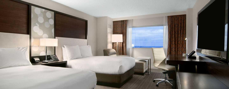 Hilton Atlanta Airport Hotel – Zimmer mit zwei Doppelbetten