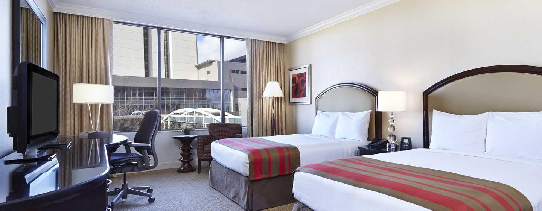 Hilton Atlanta Hotel, Georgia, USA. – zwei Doppelbetten
