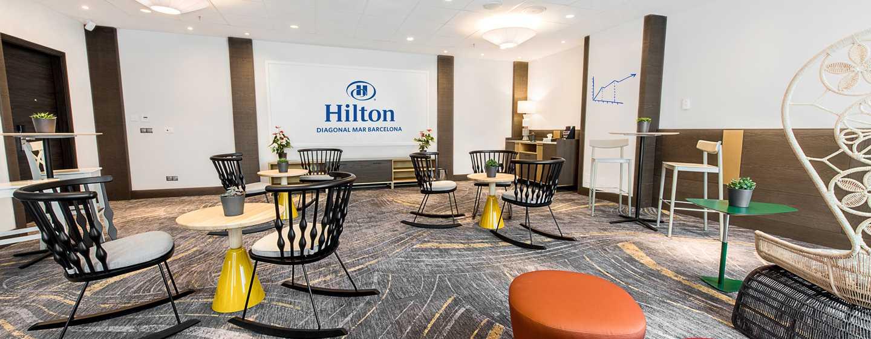 Hilton Diagonal Mar Barcelona Hotel, Spanien – Meetingraum 12