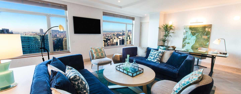 Hilton Diagonal Mar Barcelona Hotel, Spanien– Präsidenten Suite