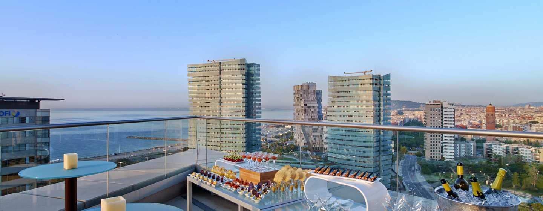 Hilton Diagonal Mar Barcelona Hotel, Spanien– Executive Lounge