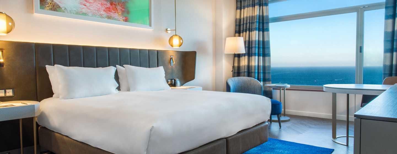 Hilton Diagonal Mar Barcelona Hotel, Spanien – Hilton Executive Zimmer mit Meerblick