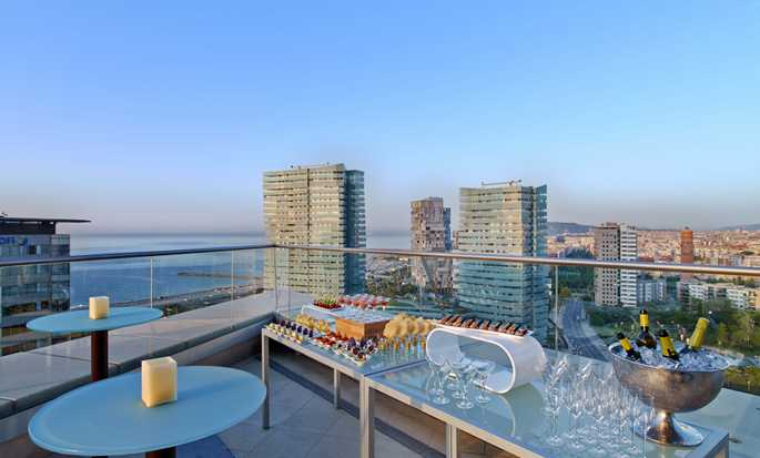 Hilton Diagonal Mar Barcelona Hotel, Spanien – Executive Lounge