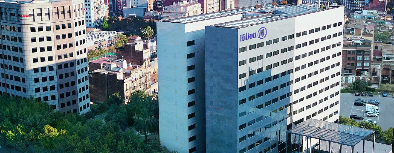 Hilton Barcelona Hotel, Spanien– Gebäude des Hilton Barcelona
