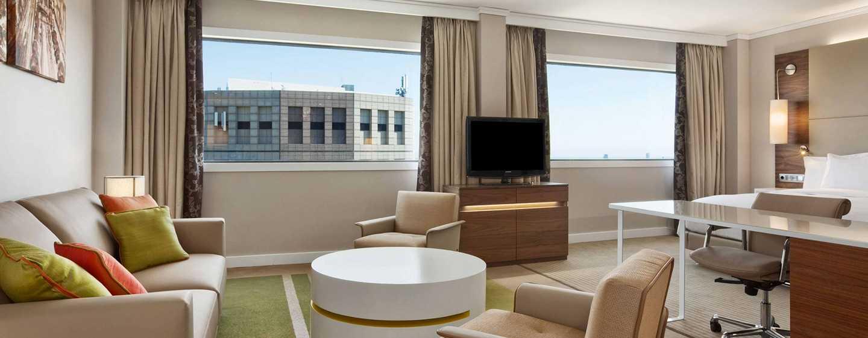 Hilton Barcelona Hotel, Spanien– Alkoven Suite