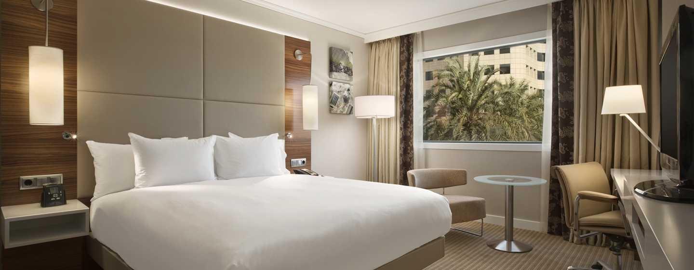 Hilton Barcelona Hotel, Spanien– Executive Zimmer mit Kingsize-Bett