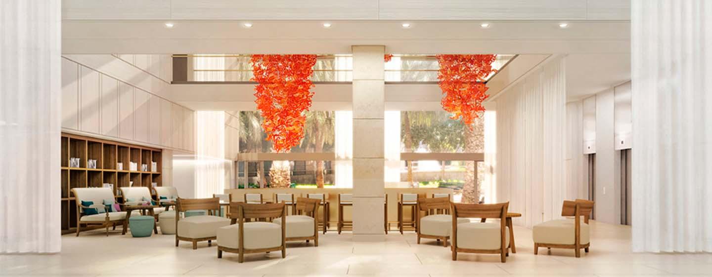 Hilton Barcelona Hotel, Spanien– Lobby-Bar
