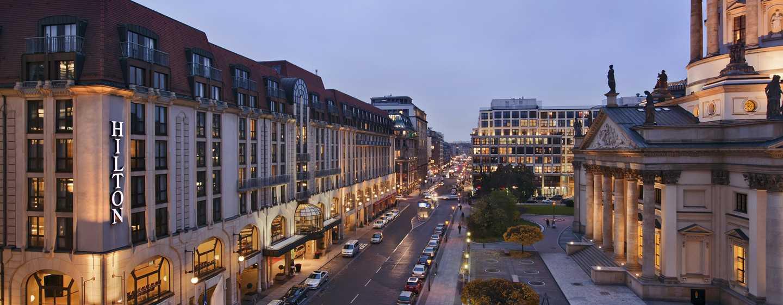 Hilton Berlin Hotel, Deutschland– Außenansicht