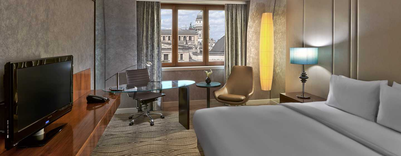 Hilton Berlin Hotel, Deutschland – Gästezimmer mit Blick auf den Dom