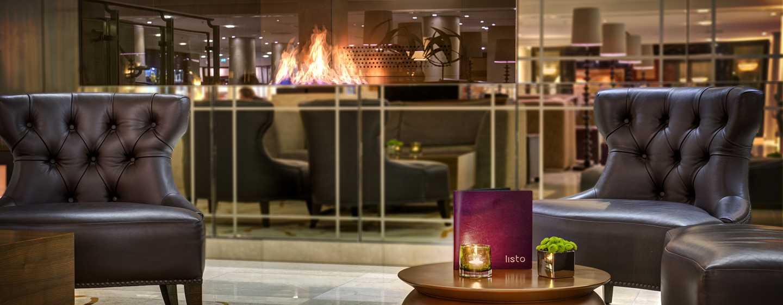 Hilton Berlin Hotel, Deutschland – Listo Lounge