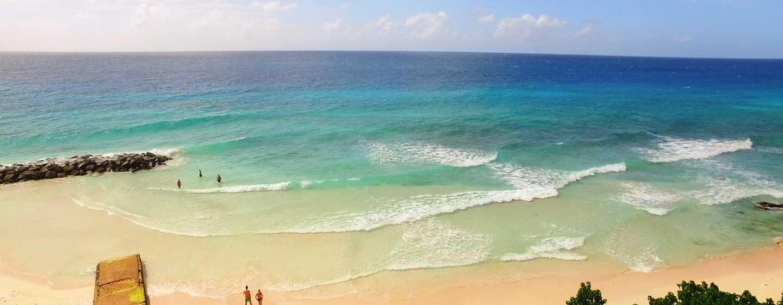 Hilton Barbados Resort, Barbados – Blick auf den Strand aus der Luft