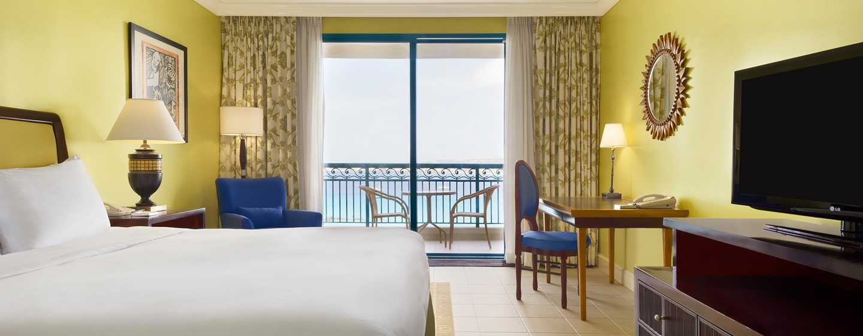 Hilton Barbados Resort, Barbados – Zimmer mit King-Size-Bett und Meerblick