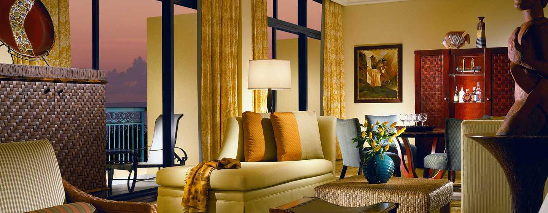 Hilton Barbados Resort, Barbados – Wohnbereich der Suite