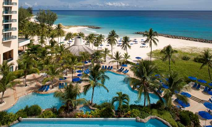 Hilton Barbados Resort, Barbados – Swimmingpools und Strand