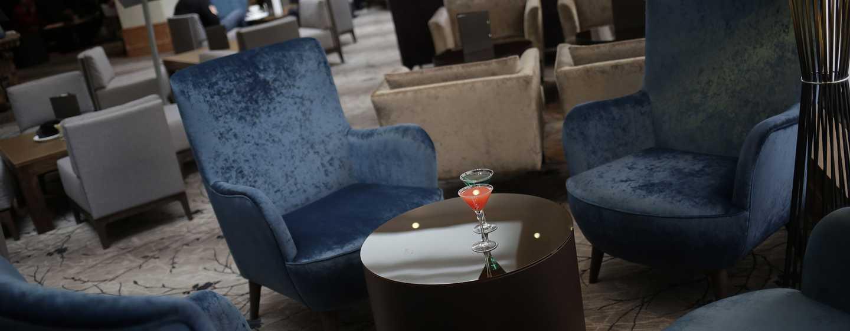 Hilton Birmingham Metropole, Großbritannien - Lounge-Bar