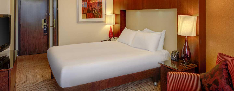 Hilton Birmingham Metropole, Großbritannien - Deluxe Zimmer mit Queen-Size-Bett