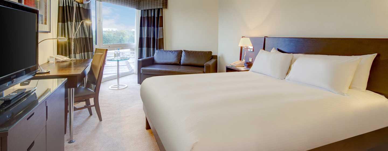 Hilton Birmingham Metropole, Großbritannien - Executive Zimmer mit Queen-Size-Bett