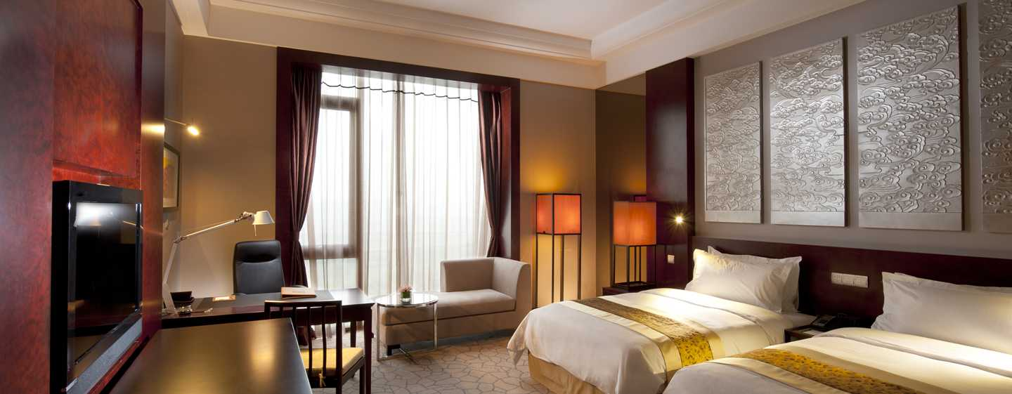 Hilton Beijing Capital Airport, China – Executive Suite mit zwei Einzelbetten