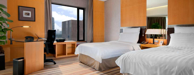 Hilton Beijing, China– Junior Suite mit zwei Betten