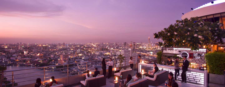Millennium Hilton Bangkok, Thailand - Three Sixty Outdoor Lounge