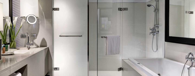 Millennium Hilton Bangkok, Thailand - Bathroom