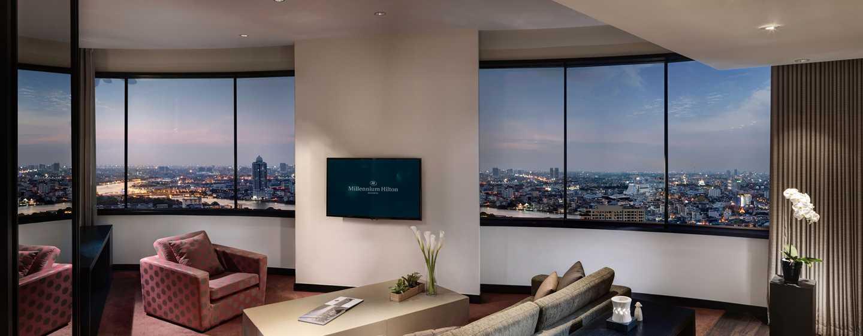 Millennium Hilton Bangkok, Thailand - River View Suite