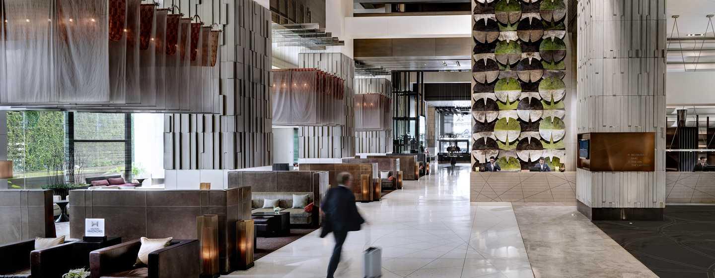 Millennium Hilton Bangkok, Thailand - Hotel lobby