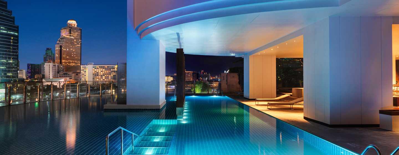 Millennium Hilton Bangkok, Thailand - Infinity Pool