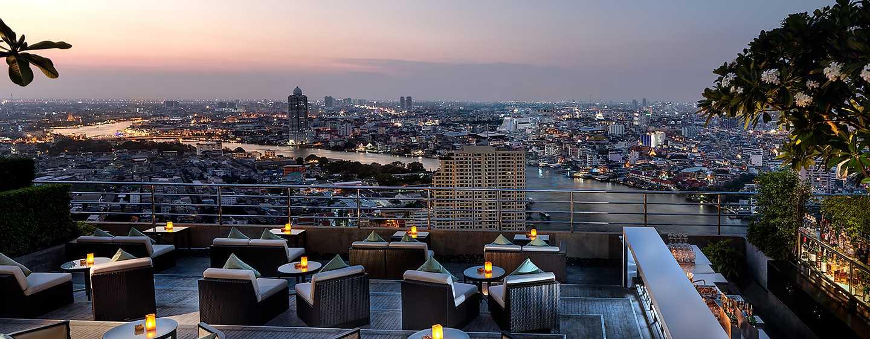 Millennium Hilton Bangkok, Thailand - ThreeSixty Outdoor Rooftop