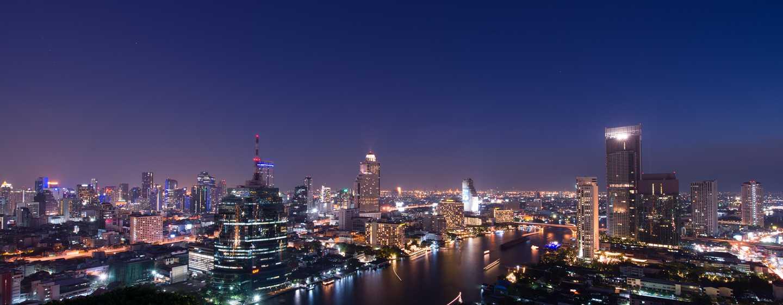 Millennium Hilton Bangkok, Thailand - View from Rooftop