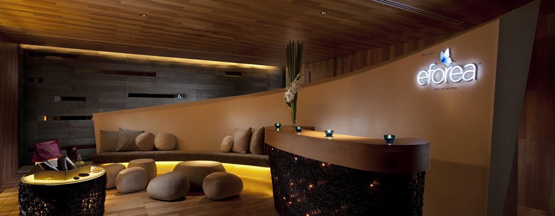 Hilton Pattaya Hotel, Thailand– Empfangsbereich eforea spa