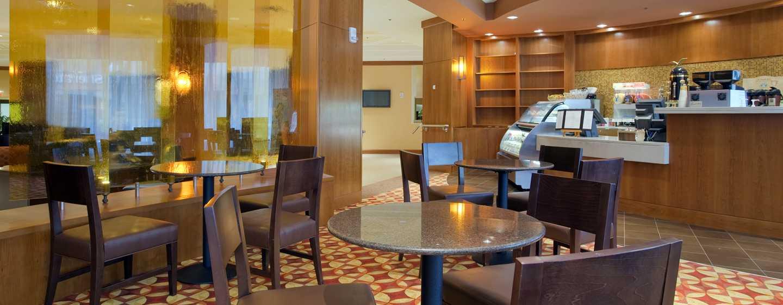 Hilton Boston Back Bay Hotel, USA– Lobby-Bar (Starbucks Café)