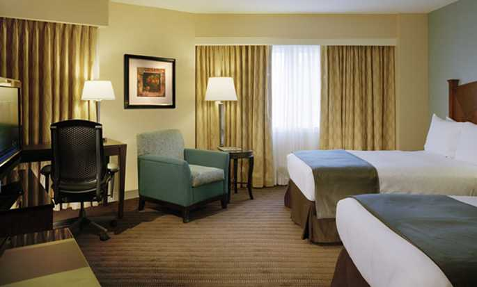 Hilton Boston Back Bay Hotel, USA – Eckzimmer mit zwei Doppelbetten