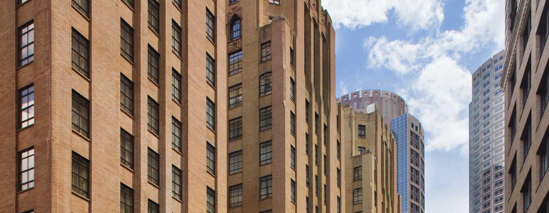 Hilton Boston Downtown/Faneuil Hall Hotel, USA– Außenbereich des Hotels