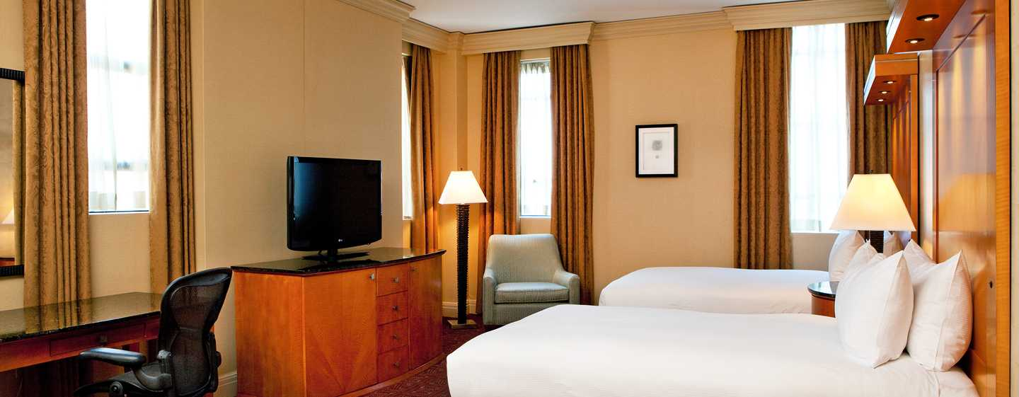 Hilton Boston Downtown/Faneuil Hall Hotel, USA– Deluxe Doppelzimmer