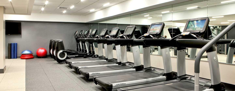 Hilton Boston Downtown/Faneuil Hall Hotel, USA– Fitnesscenter