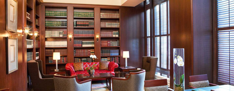 Hilton Boston Downtown/Faneuil Hall Hotel, USA– Bibliothek